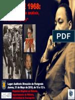 Afiche Jornadas Mayo 68 UdeC 2018