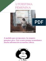 Autoestima Femenino.pps