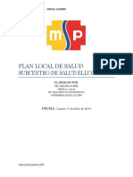 Plan Local Word