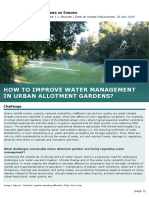12 How to Improve Water Management in Urban Allotment Gardens