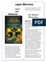 Dragon Warriors House Rules 4