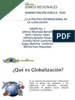 Escenario de La Política Internacional