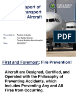 Safe Transport of PEDs in Transport Passenger Aircraft by FAA