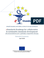 eStandards Roadmap for collaborative & sustainable standards development