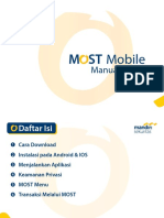 Manual Guide MOST Mobile Android
