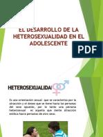 Desarrollo de La Heterosexualidad en adolescentes