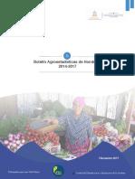 Boletín Agroestadísticas I S 2017
