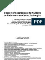 Bases Farmacológicas Del Cuidado de Enfermería en Centro Quirúrgico 2010