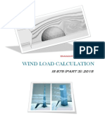 Wind Load Calculation - IS 875 (PART-3)