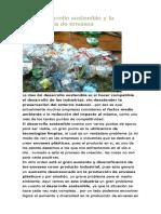 El Desarrollo Sostenible y La Industria de Envases