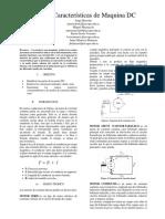 Caracteristicas Motor DC