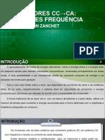 Aula 10. Conversores CC-CA Inversores de Frequência 16.9