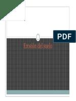Erosión-geología