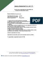 Determinacion de Capacidad de Resinas de Intercambio Ionico