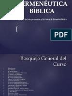 PowerPoint Curso Extra Para Referencia Hermenéuticas Por Joselito Orellana Mora