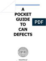 A Pocket Guide to Can Defects