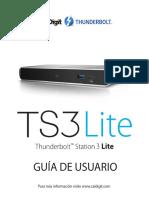CalDigit TS3 Lite Manual ES