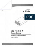 Installation and Operation Manual _ GX2-PSDC10D-R _ Power Supply _ ARRIS