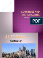 Countries and Nationalities Clt Communicative Language Teaching Resources Flas 92266