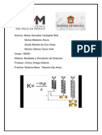 Modelado - Practica Sistema Masa-Resorte