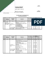 Planificare calendaristică MATERII PRIME PENTRU INDUSTRIA TEXTILĂ
