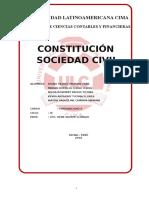 Constitucion de Empresa Sociedad Civil