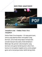 Online Poker Free Anapoker