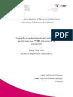 BENIMELI - Desarrollo e Implementación Del Software de Gestión Para Una PYME Del Sector de La Aut...