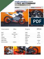 Moto3 - Honda Nsf250r