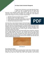 Jenis kayu kontruksi