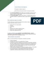Requisitos Legales Para Formar Una Empresa