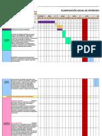 Psicologa Plan Anual Evaluacion 2018