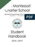 18 19 student handbook