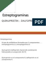 Estreptograminas OXAZOLIDINAS