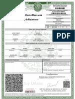 Acta de Nacimiento GAJJ031022HTCRMNA9