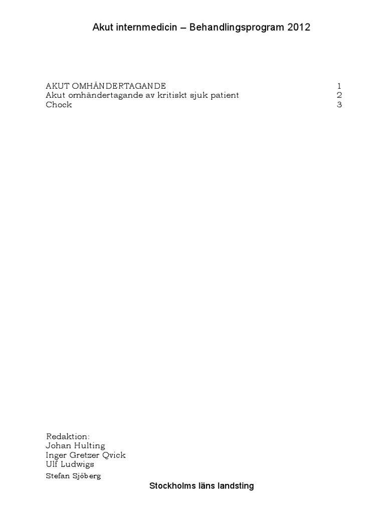 Akut Internmedicin Behandlingsprogram 2012 276ce12eddf0b