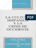 La Cultura Hispánica y La Crisis de Occidente