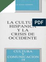 La Cultura Hispánica y La Crisis de Occidente