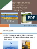 Fluidos y Apuntalantes Empleados en El Fracturamiento Hidráulico