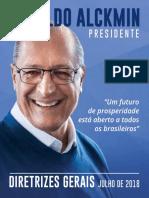 Programa de Governo Geraldo Alckmin 2018 (1)