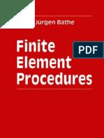 Elementos Finitos FEM - Finite Element Procedures - K.-j. Bathe - 1996