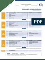Plan Estudios Profesional Ingenieria Mecatronica 1-2018