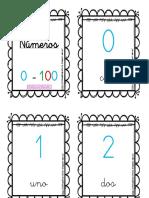 Números 0-100