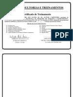 Certificado Treinamento Nr12 Gleidson