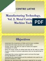 Mfg Tech Vol 2 Ed 2 Chapter 04 Centre Lathe