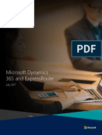 Microsoft Dynamics 365 and ExpressRoute