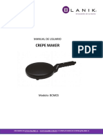 MANUAL DE USUARIO CREPE MAKER