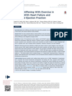 Arterial Stiffening With Exercise