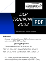DLP Training 2003 SAMSUNG Copia