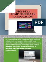 Usos de La Computadora en La Educacion 4